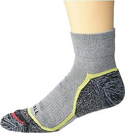 Merrell Mens 1 Pack Cushioned Lightweight Hiker Crew Socks