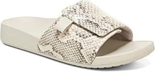 Vionic Women's Asha Keira Slide Sandal- Supportive Ladies Slip on Sandals That Include Three-Zone Comfort with Orthotic In...