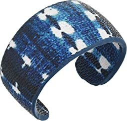 Print Covered Cuff Bracelet