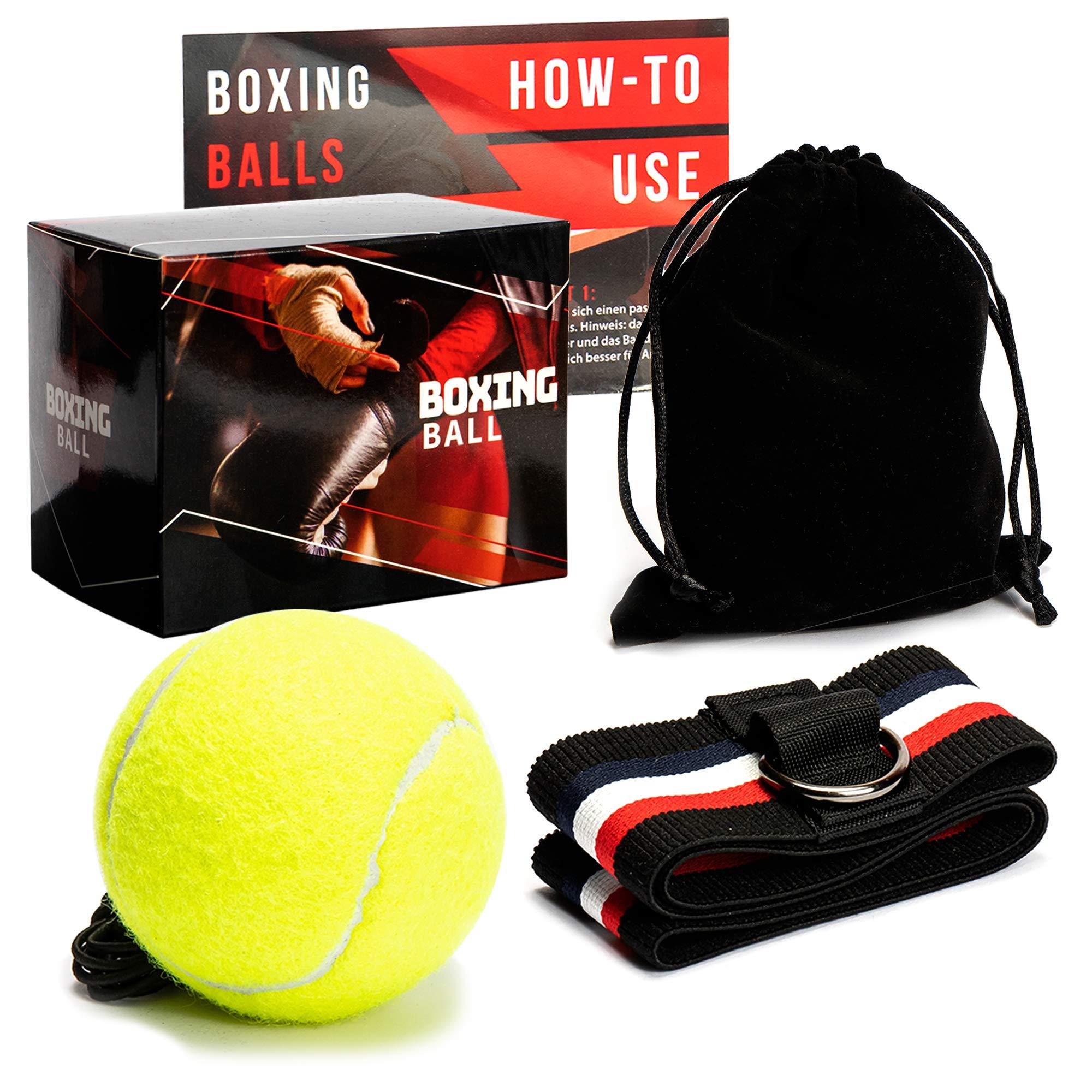 Loomiloo Reflex Box Ball con cinta para la frente, perfecto ...