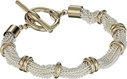 Multi Row Toggle Bracelet