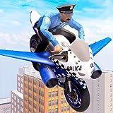 US Police Flying Bike Rider 3D Game: Simulateur de vol de moto