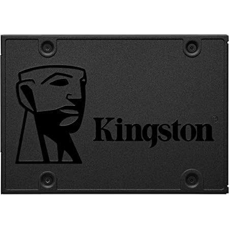 """Kingston 120GB A400 SATA 3 2.5"""" Internal SSD SA400S37/120G - HDD Replacement for Increase Performance"""
