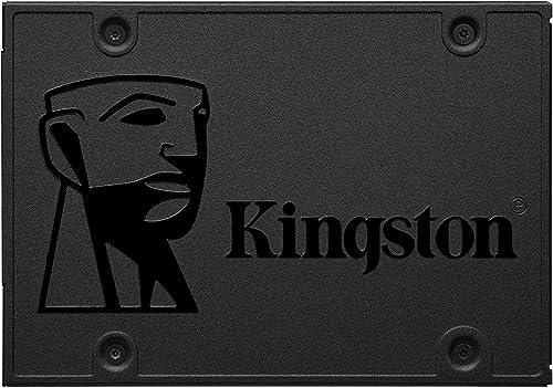 """SA400S37120G - SSD de 120GB Série A400 2,5"""" Sata III para desktopnotebooks."""