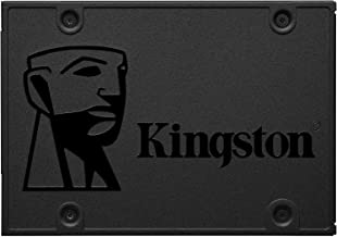 """Kingston 120GB A400 SATA 3 2.5"""" Internal SSD SA400S37/120G - HDD Replacement for Increase Performance , Black"""
