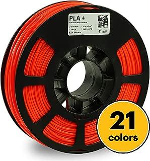 KODAK PLA Plus 3D Printer Filament, 2.85mm +/- 0.02 mm, 750g (1.7lbs) Spool, Neon Orange