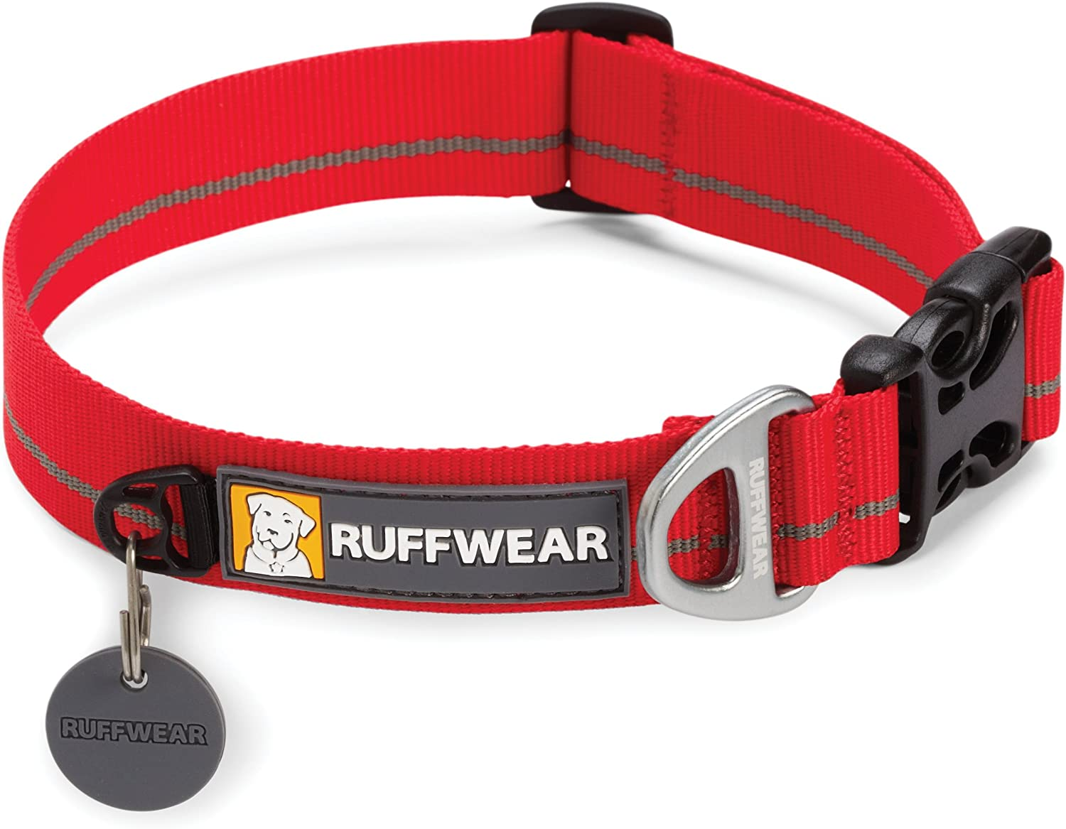 Ruffwear Hoopie Collar for Pets, Small, Red Currant
