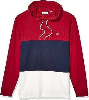 Lacoste Men's Long Sleeve Colorblock Jersey Tee Shirt
