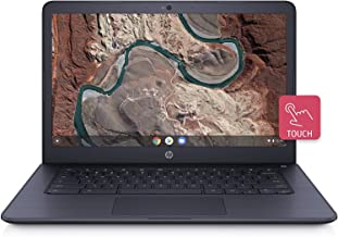 HP 14inch Touchscreen Chromebook AMD Dual-Core A4-9120 Processor, 4GB DDR4 Memory, 32GB eMMC Storage, AMD Radeon Graphics,...