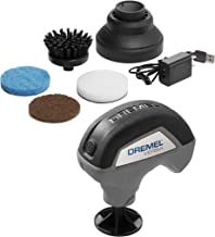 Dremel Versa Cleaning Tool- Grout Brush- Bathroom Shower Scrub- Kitchen and Bathtub Cleaner- Power Scrubber for Tile, Pans, Stoves, Tubs, Sinks Auto, and Grills- PC10