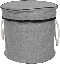 Toy Storage Bag Waterproof Storage Bucket Drawstring Bag Household Sundries Containers Collapsible Canvas Storage Bag Toy ...