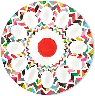 """French Bull 12"""" Egg Tray - Melamine Dinnerware - Platter, Dish, Serving, ed, Easter - Ziggy"""