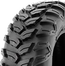 SunF A043 Sport-Performance XC ATV/UTV Off-Road RADIAL Tire - 25x10R12 (6-Ply Rated)