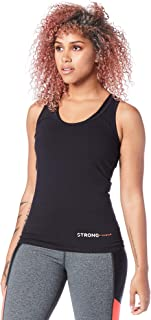 STRONG by Zumba Active Wear Women's Racerback Tank Performance Gym Workout Top