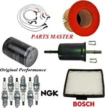 8USAUTO Tune Up Kit Air Cabin Oil Fuel Filters Wire Spark Plug Fit FORD F-150 V6 4.2L 2001-2003