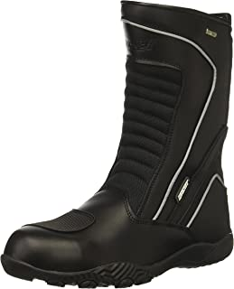 Joe Rocket Men`s Meteor FX Leather Motorcycle Riding Boot (Black, Size 10)