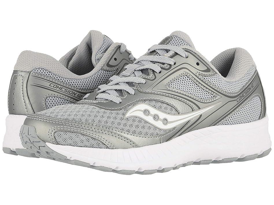 [サッカニー] レディースランニングシューズ?スニーカー?靴 Versafoam Cohesion 12 Gray/Silver 9.5 (26cm) B [並行輸入品]
