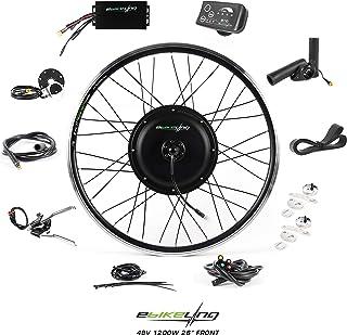 "EBIKELING 48V 1200W 26"" Direct Drive Waterproof Electric Bike Kit - Ebike Conversion Kit - Electric Bike Conversion Kit (Front or Rear Wheel Electric Bike Kit)"