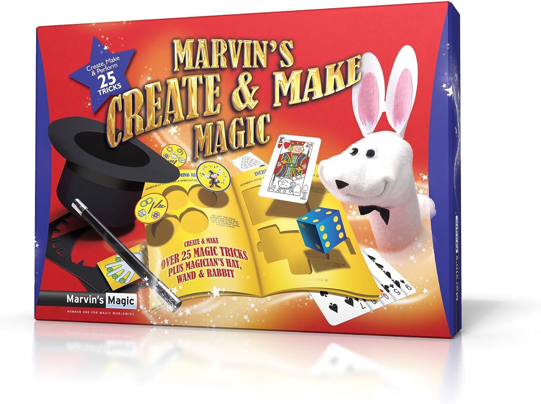 Marvin's Magic Create and Make Magic Set.Professional magic made easy