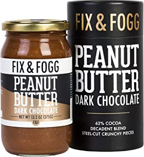 Gourmet Peanut Butter, Chunky Chocolate Spread, Keto Peanut Butter, Low Sugar Peanut Butter, Dark Chocolate...