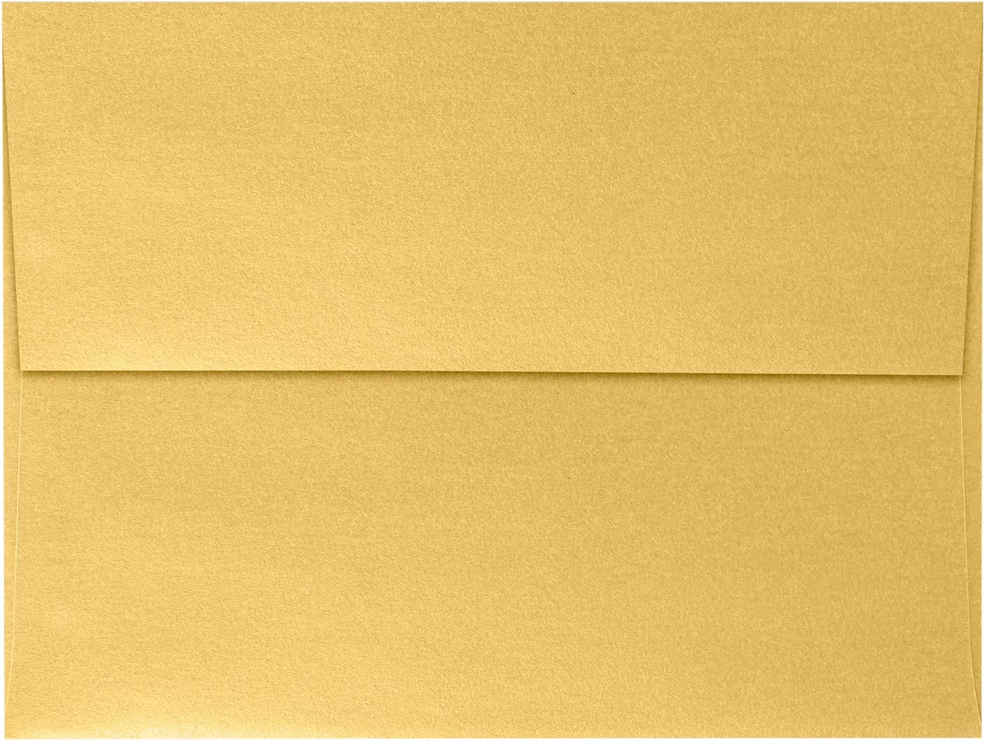 A7 Invitation Envelopes 5 Max 66% OFF 1 4 x Metallic Gold 50 7 Sale Special Price Qty -