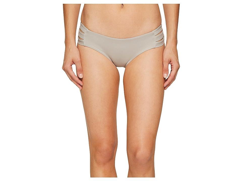 Vitamin A Swimwear Emelia Triple Strap Bottom (Pebble Ecolux) Women