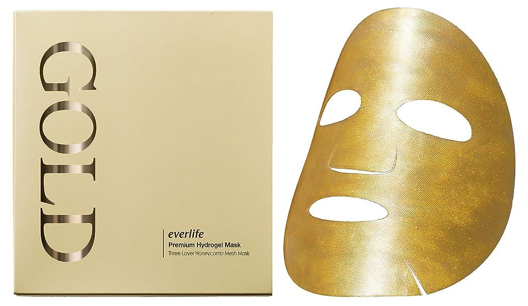 ルール漫画食い違いエバーライフ プレミアムハイドロゲルマスク(ゴールドマスク) 1箱4枚入り 1枚30g