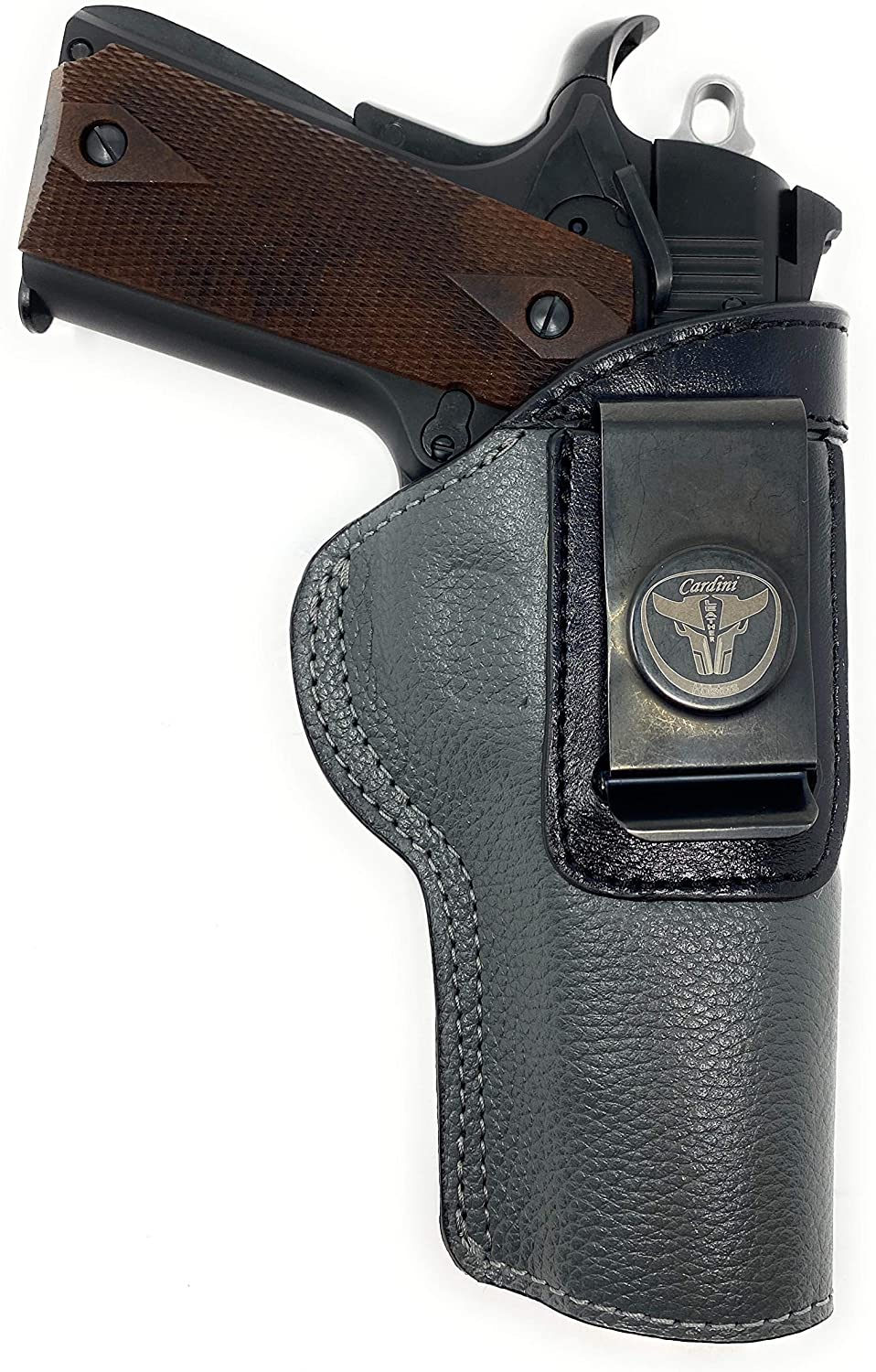 Cardini Leather - IWB Holster Fits Regular store Most Handguns Weekly update Style 1911