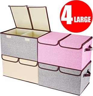 Best collapsible storage cubes with lids Reviews