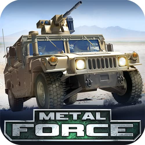 Metal Force - War Modern Tanks: Best Free Fire Games