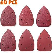 KWB by Einhell 49818975 Lot de 15 feuilles abrasives 230 x 115 mm Accessoire de ponceuse vibrante