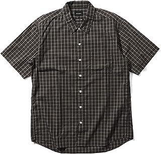 [ビームス] 半袖シャツ ブロード チェック ネオルーズフィット シャツ メンズ