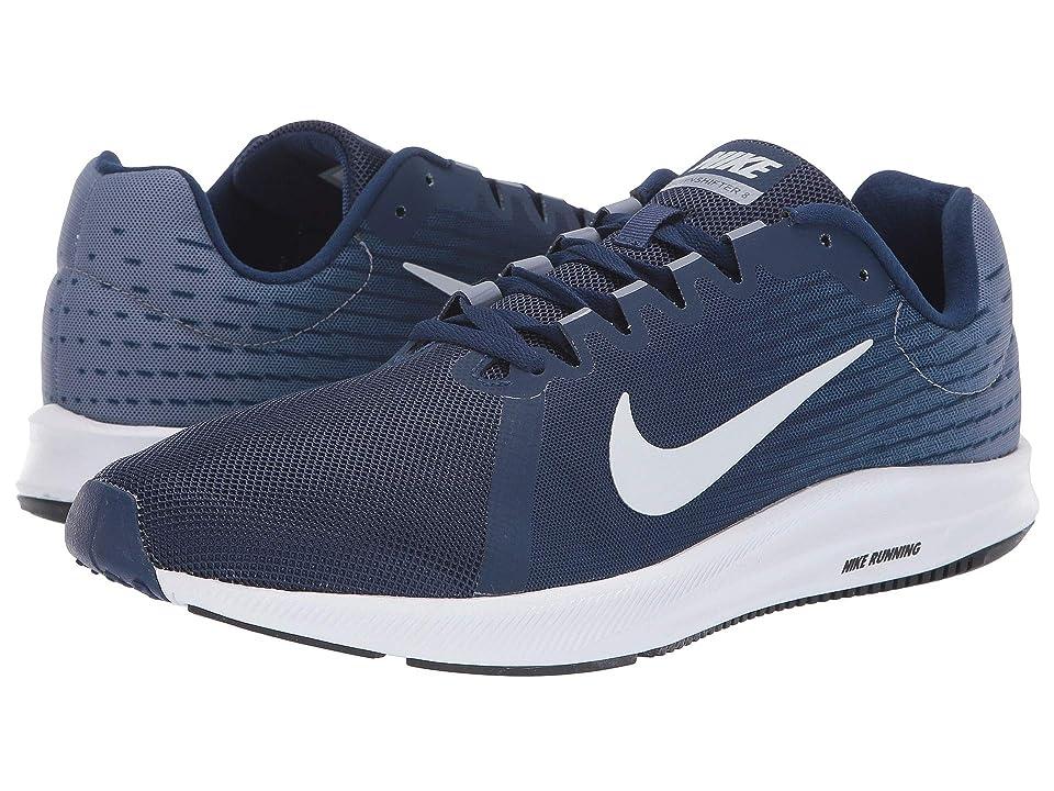 Nike Downshifter 8 (Blue Void/Pure Platinum/Ashen Slate) Men
