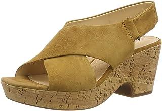 c550a565 Amazon.es: Amarillo - Sandalias de vestir / Zapatos para mujer ...
