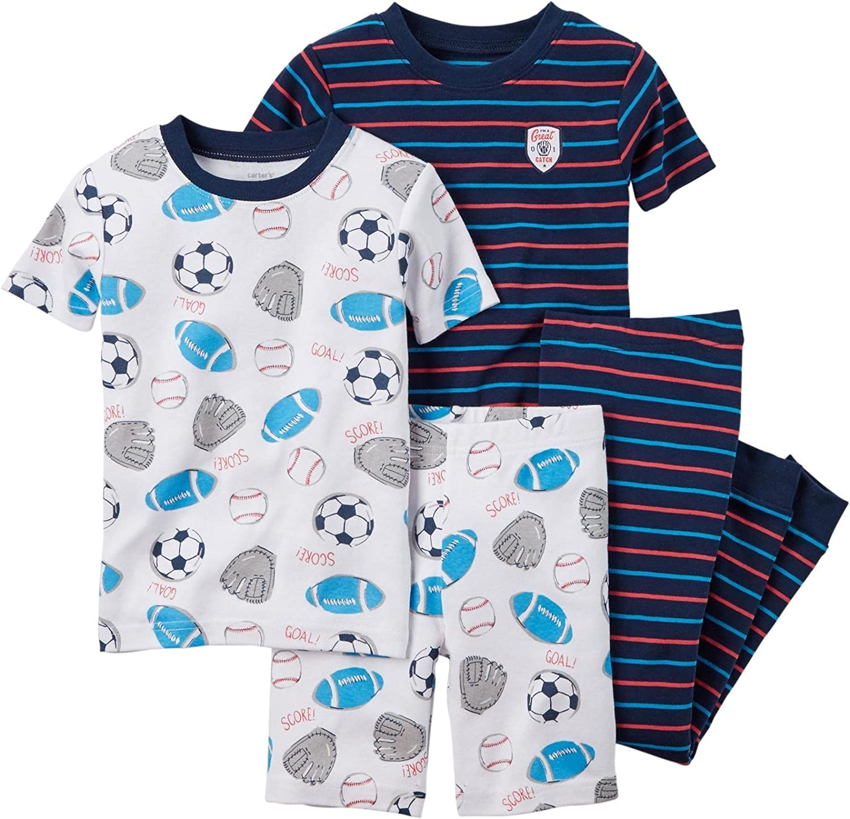 Carter's Baby Boys' 4 Pc Cotton 321g091