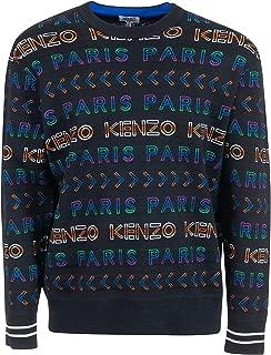 Kenzo Luxury Fashion Mens F965PU2093LDMU Black Sweater | Fall Winter 19