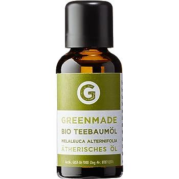 Bio Teebaumöl 50ml - 100% reines Öl (kbA) von greenmade
