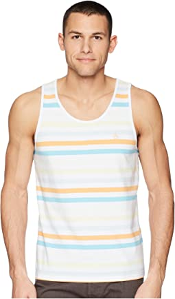 Original Penguin Soda Stripe Tank Top