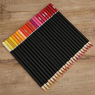 Gedourain Crayons de Peinture d'esquisse d'artiste, Bonne solubilité dans l'eau Crayons solubles dans l'eau Crayons de Des...