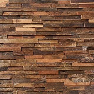 Deco Strips Antique Driftwood 7.87 in. Wide x 47 1/4 in. Long 10.334 sq. ft NV15DS (White)