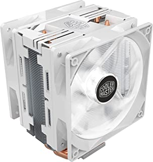 Cooler Master Hyper 212 LED Turbo White Edition CPU Cooler with 2 PWM fans with White LEDs - White - RR-212TW-16PW-R1