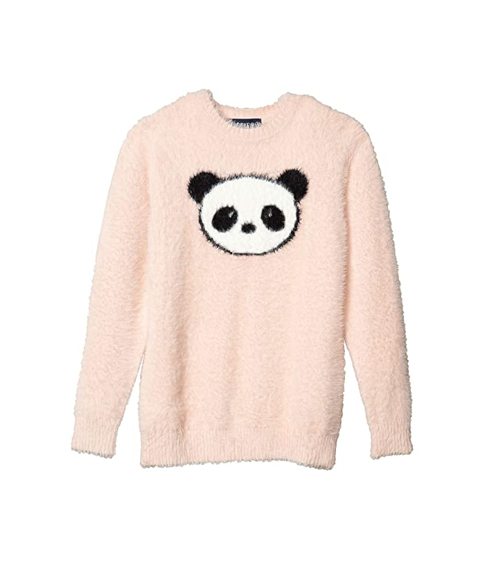 Toobydoo  Faux-Mohair Sweater (Toddler/Little Kids/Big Kids) (Pink Panda) Girls Clothing