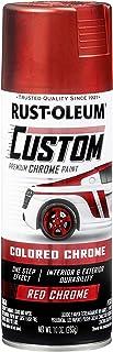 Rust-Oleum 340561 Automotive Spray Paint, 10 oz, Metallic Red
