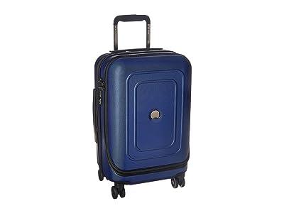 Delsey Cruise Lite Hardside 19 International Expandable Spinner (Blue) Luggage