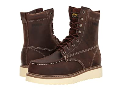 Wolverine Loader 8 Steel Toe Boot (Brown) Men