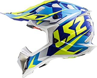 LS2 Motocross-Helm MX 470 Subverter Weiß Gr. S