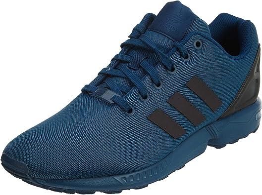 Amazon.com | adidas Mens Originals ZX Flux Shoes #S76529 (11) Blue ...