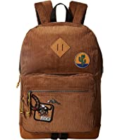 Steve Madden - Corduroy Classic Backpack with Patches