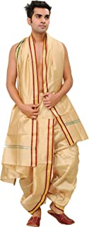 silk dhoti pants