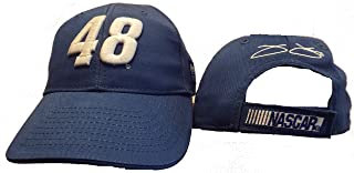 Jimmie Johnson #48 Blue Template Adjustable Youth hat